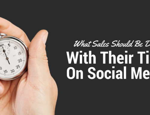 What Sales Should Be Doing with Their Time on Social Media